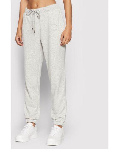 Szare spodnie dresowe Noisy May
