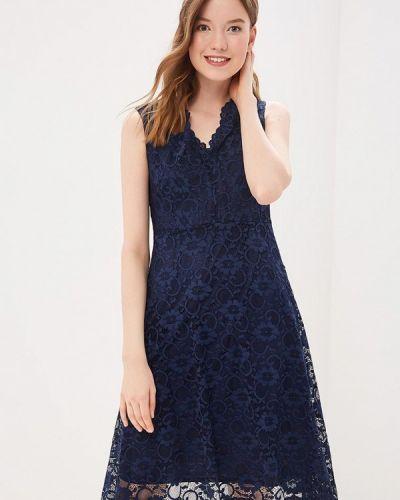 Повседневное платье весеннее синее Wallis