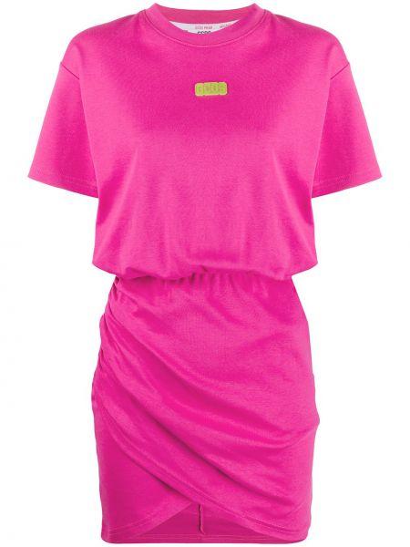 Платье мини футболка с поясом Gcds