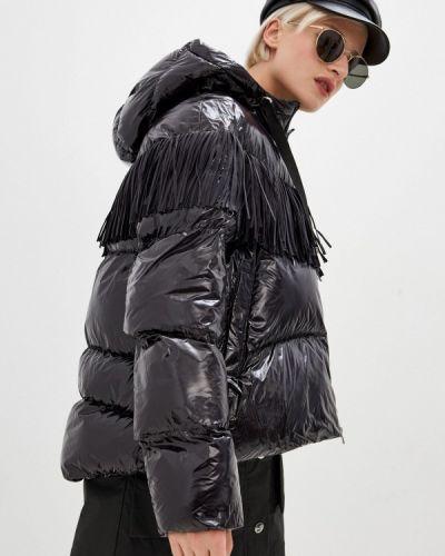 Утепленная черная куртка Pinko