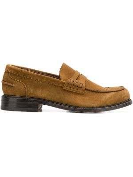 Кожаные туфли замшевые коричневый Berwick Shoes