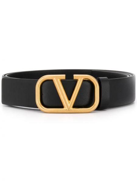 Złoty pasek - czarny Valentino