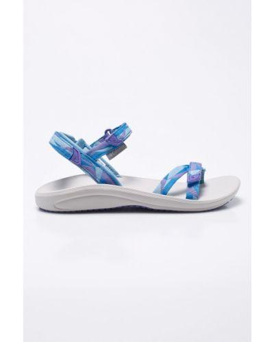 Синие сандалии текстильные Columbia