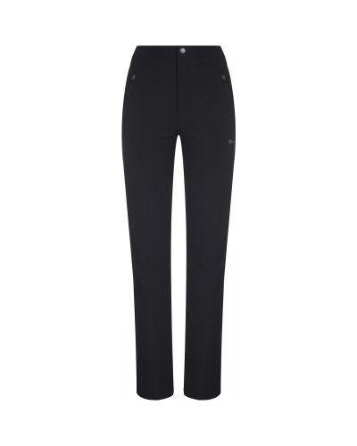Прямые черные теплые брюки Outventure