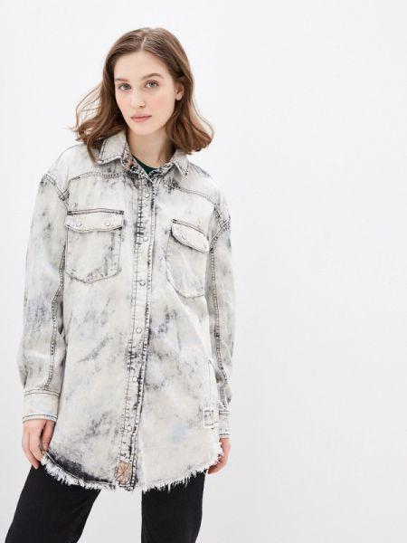 Джинсовая куртка весенняя белая Free People