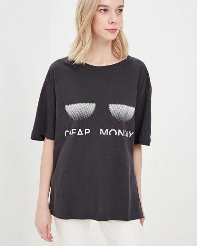 Серая футболка Cheap Monday