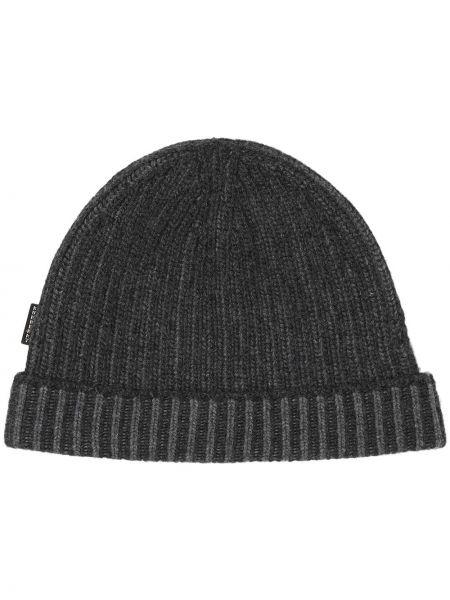 Кашемировая серая шапка бини Burberry