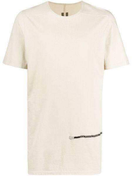 Koszula krótkie z krótkim rękawem prosto przeoczenie Rick Owens Drkshdw