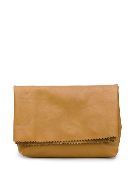 Żółta torebka skórzana Vetements