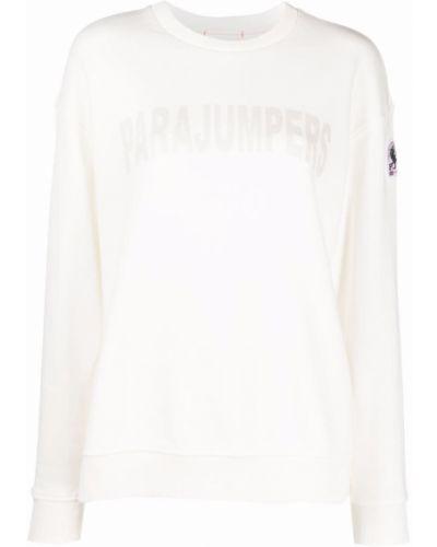 Хлопковый свитшот - белый Parajumpers