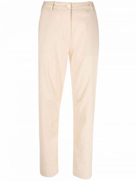 Spodnie z wysokim stanem z paskiem - khaki Rag & Bone
