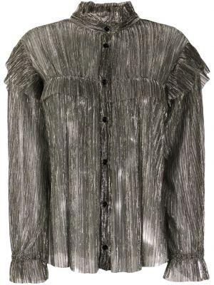 Bluzka srebrna Isabel Marant Etoile