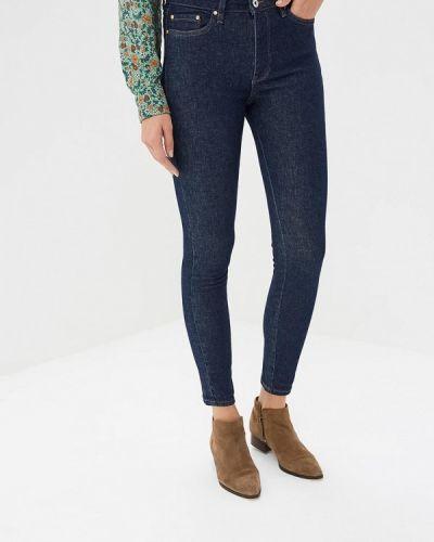 Синие джинсы-скинни Tom Tailor Denim