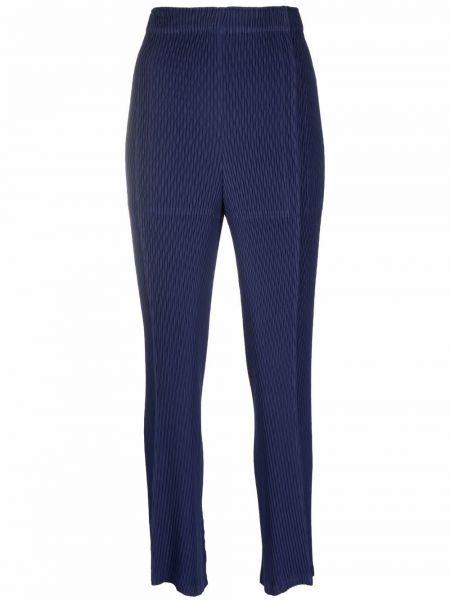 Spodnie - niebieskie Issey Miyake