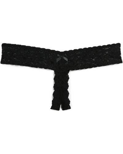 Stringi - czarne Hanky Panky