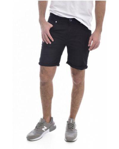 Czarne bermudy jeansowe Guess