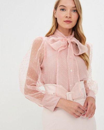 Блузка с длинным рукавом розовая итальянский Imperial