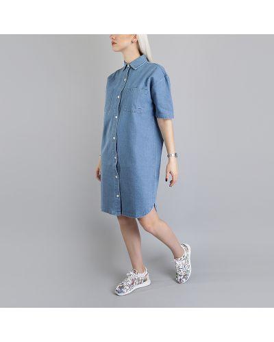 Голубое платье Stussy
