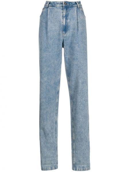 Свободные прямые джинсы с карманами на пуговицах свободного кроя A.f.vandevorst