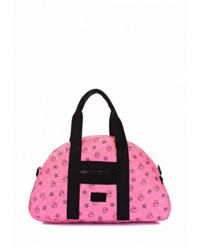 Розовая спортивная сумка Poolparty