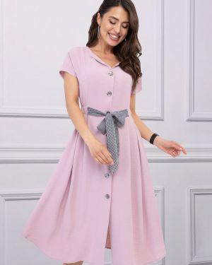 Платье с поясом платье-сарафан мягкое Charutti