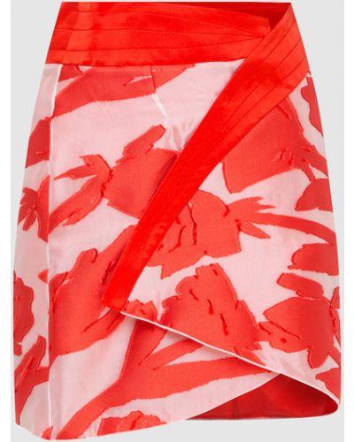 Красная юбка миди Blumarine
