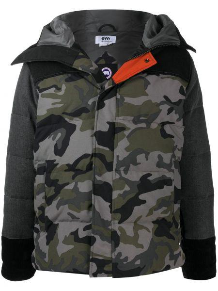 Классическая черная нейлоновая куртка с капюшоном с карманами Junya Watanabe Man