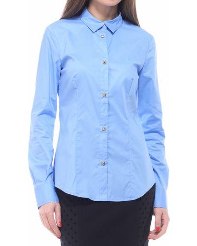 Голубая рубашка Love Moschino