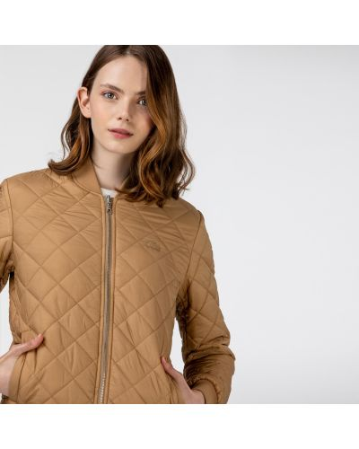 Куртка на молнии с воротником двусторонняя Lacoste
