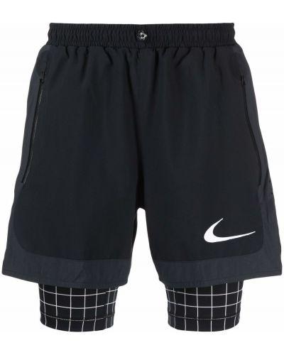 Białe szorty z printem Nike X Off White