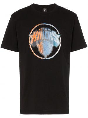 Bawełna czarny koszula krótkie rękawy Marcelo Burlon County Of Milan