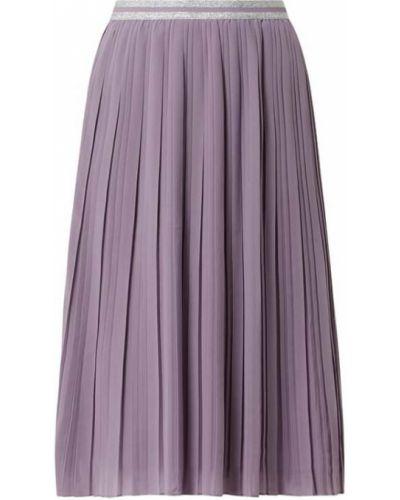 Fioletowa spódnica rozkloszowana z szyfonu Montego