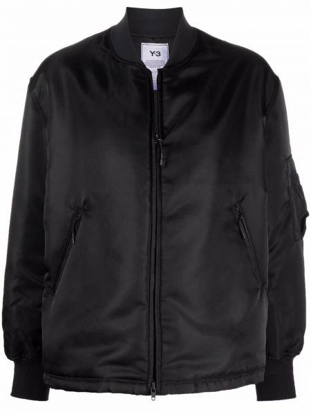 Черная куртка двусторонняя Y-3
