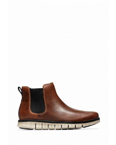 Кожаные ботинки - коричневые Cole Haan