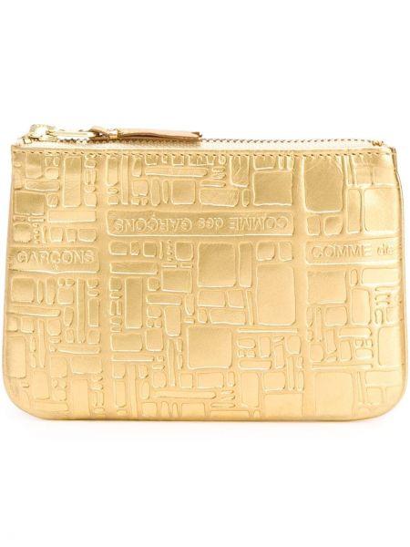 Желтый кожаный кошелек Comme Des Garçons Wallet