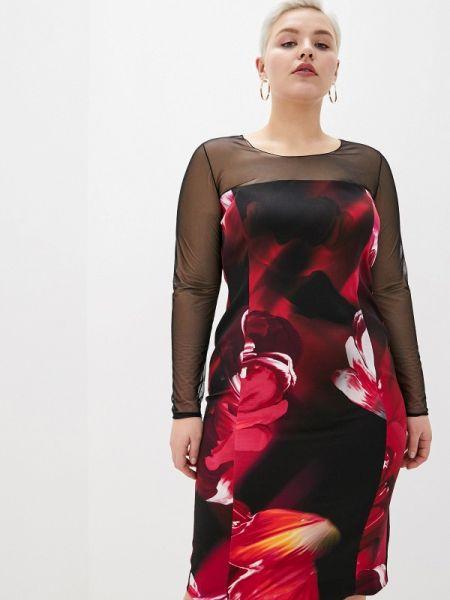 Вечернее платье черное весеннее Persona By Marina Rinaldi