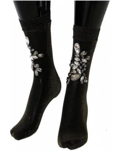 Czarne skarpety Dolce And Gabbana
