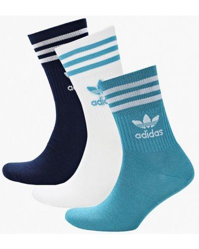 Бирюзовые носки Adidas Originals