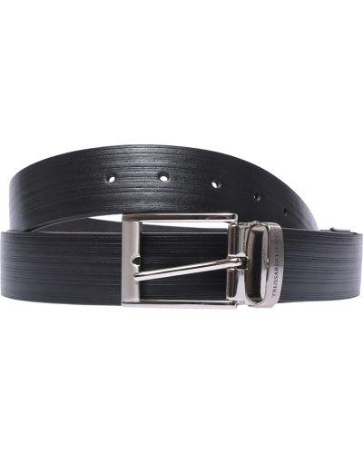 Черный ремень Trussardi Jeans