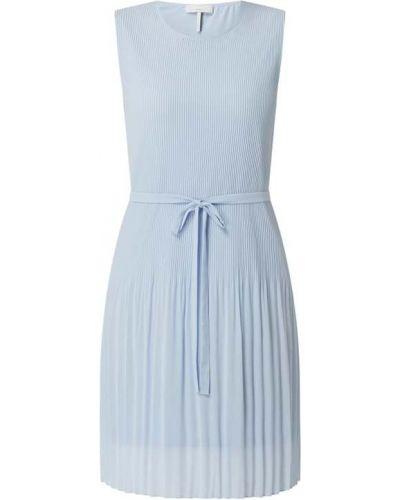 Sukienka z wiązaniami - niebieska Cinque