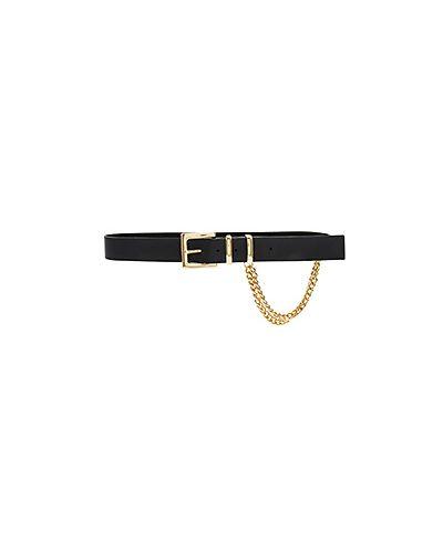 Ремень с пряжкой кожаный B-low The Belt