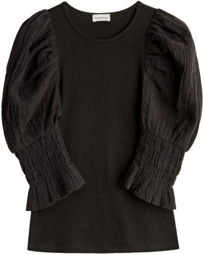 Czarny top By Malene Birger