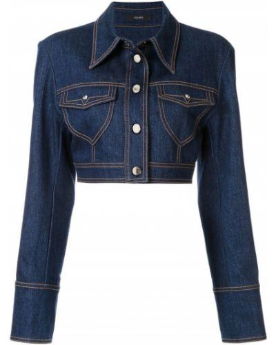 Джинсовая куртка с манжетами на пуговицах Ellery