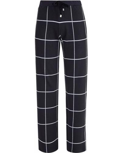 Укороченные брюки - черные Capobianco
