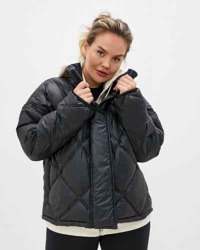Теплая черная куртка Adidas By Stella Mccartney