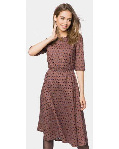 Платье прямое осеннее Mr520