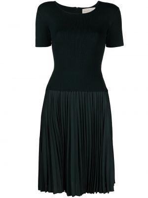 Zielona sukienka mini krótki rękaw z nylonu Sachin & Babi