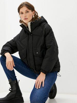 Черная зимняя куртка Izabella
