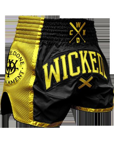 Шорты с вышивкой с поясом Wicked One