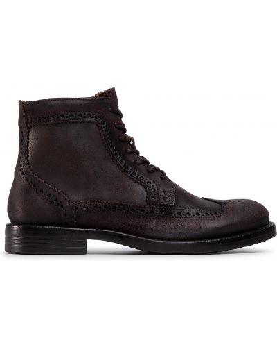 Ботинки - коричневые Quazi